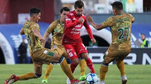 Manu Pérez anotó el segundo gol.