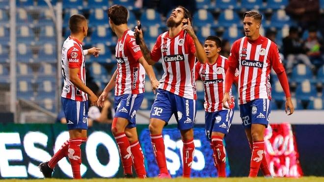 El San Luis venció al Puebla como visitante.