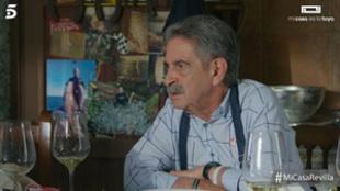 Miguel Ángel Revilla fue el protagonista de la segunda entrevista de...