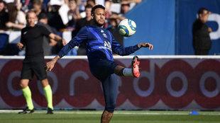 Neymar, con el PSG.