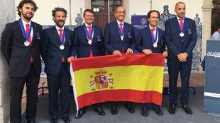 Las tripulaciones españolas medallistas