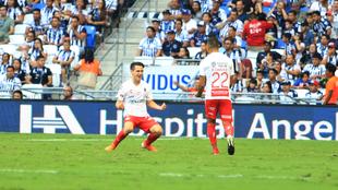 Angulo hizo los goles del partido.