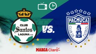 Santos vs Pachuca: Horario y dónde ver.