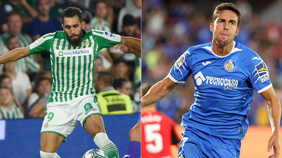 Borja Iglesias y Jaime Mata
