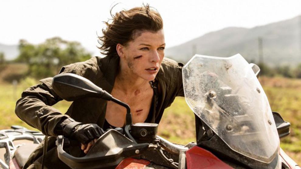 Olivia Jackson, doble de Milla Jovovich, sufrió un accidente durante...