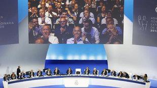 Imagen de la Aamblea del Real Madrid