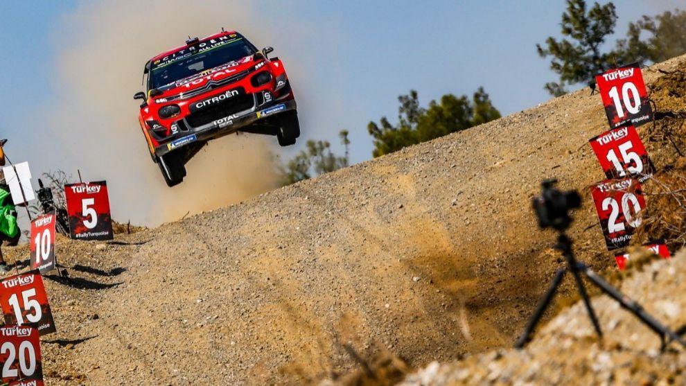 Tercer triunfo del año para el francés y primer doblete del C3 WRC