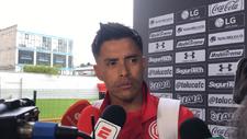 Talavera luego del partido ante Morelia