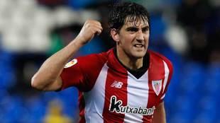 Mikel San José, defensa del Athletic y de la selección española