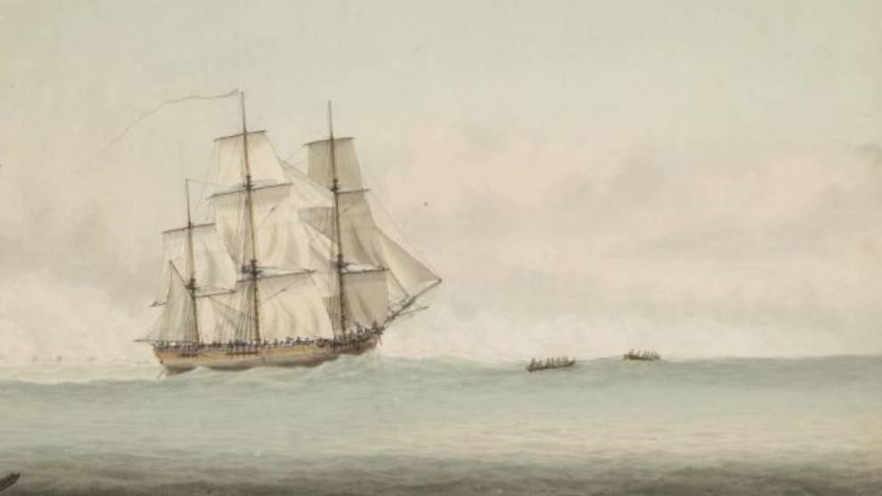 Podrían haber dado con los restos del HMS Endeavour, el famoso barco...
