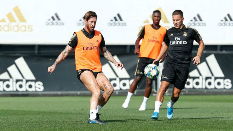 Real Madrid trains without Modric, Assensio