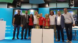 Celebración del sorteo de la Danone Cup Nations Cup en la sede de...