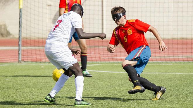 Pablo Cantero, en un partido ante Francia.