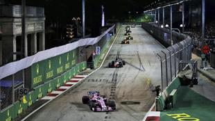 Gran Premio de Singapur de F1.