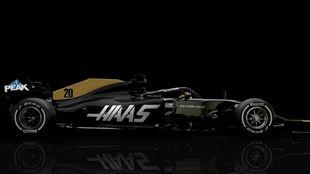El 'nuevo' Haas.