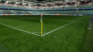 Imagen de un estadio vacío