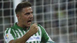 Joaquín, celebrando un gol