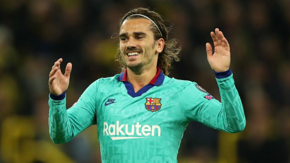 Barcelona  Griezmann: Barcelona didn't knock on the door and that has to improve