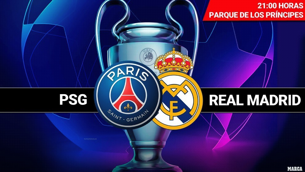 Real Madrid: PSG vs Real Madrid line-ups: James and BBH ...