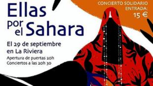 'Ellas por el Sáhara', el 29 de septiembre en La Riviera de...