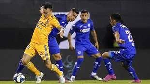 Tigres vs Cruz Azul, en vivo minuto a minuto