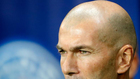 Zidane, en el partido de París