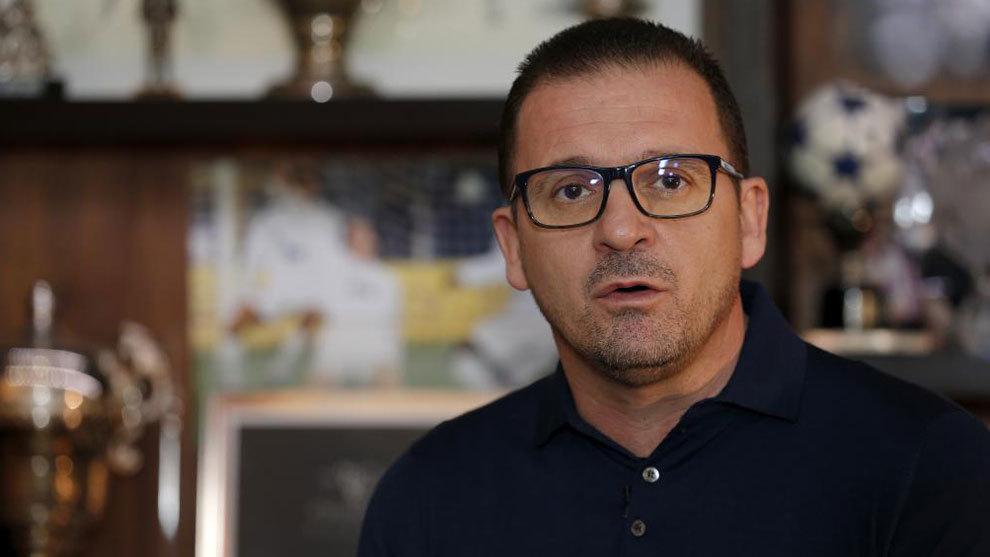 Pedja Mijatovic, exjugador del Real Madrid, durante una reciente...