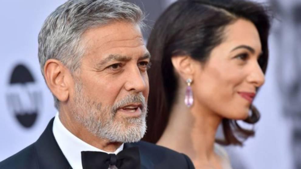 George Clooney y su mujer, amenazados de muerte