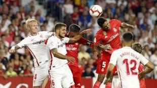 Imagen del Sevilla-Madrid de la Liga 18-19