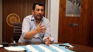 Al Thani en una entrevista con MARCA