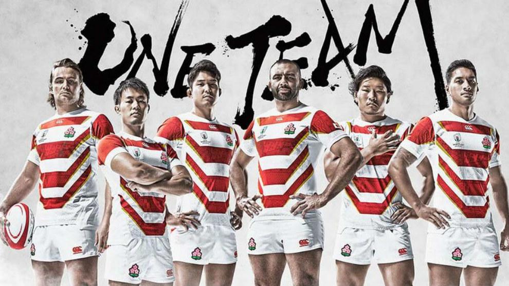 Selección de Japón de Rugby.