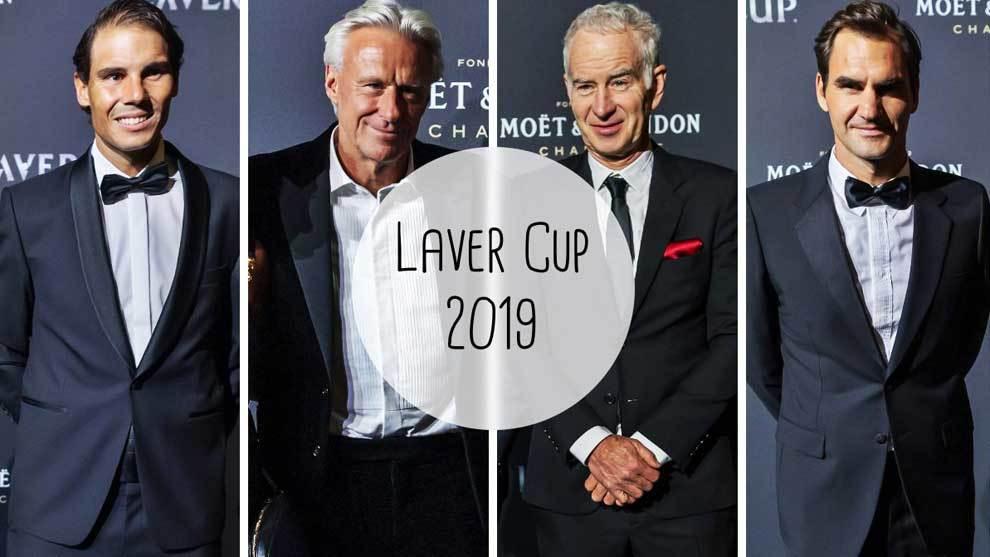 Los mitos del tenis se ponen de tiros largos: Nadal, Borg, McEnroe, Federer... y Kyrgios