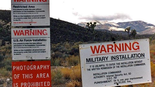 El asalto al Área 51 en Nevada, en directo