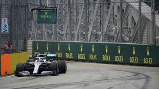 Lewis Hamilton, en Singapur.