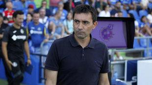 Asier Garitano, en el partido de la jornada 3 de LaLiga frente al...
