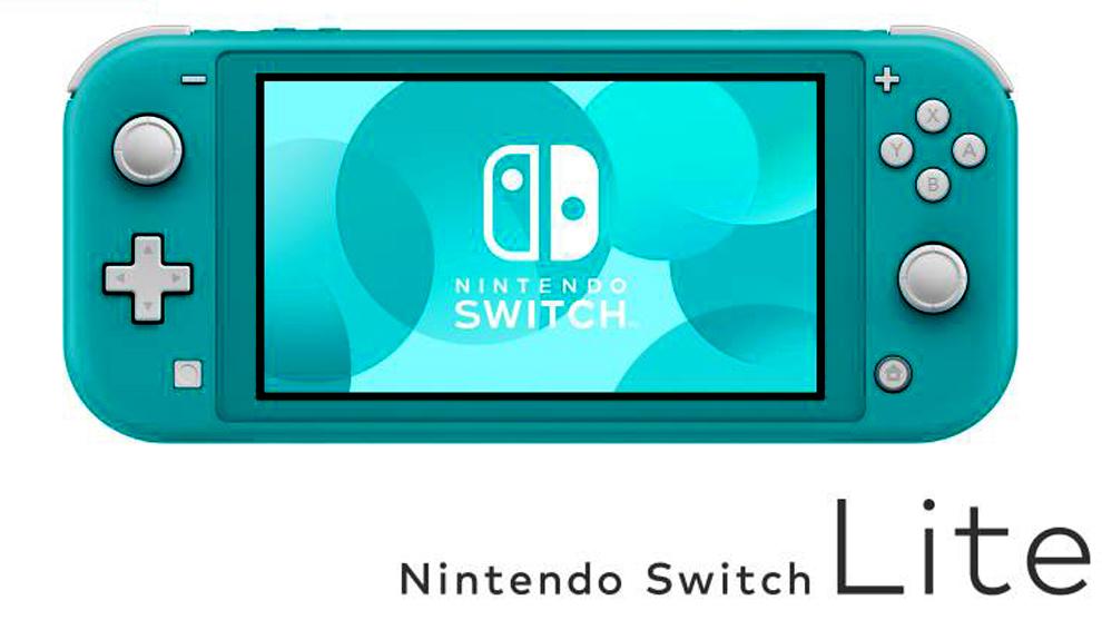 Nintendo Switch Lite azul, uno de los tres modelos disponibles