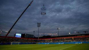 Panorámica del Estadi Johan Cruyff.