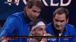 "El 'coaching' de Nadal y Federer a Fognini a pie de pista: ""No te frustres"""