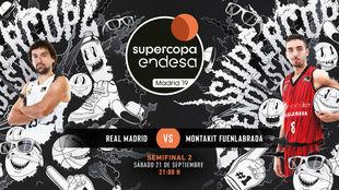 Real Madrid - Fuenlabrada Baloncesto: hora, canal y dónde ver en...