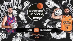 Barcelona - Valencia Basket: horario y dónde ver en televisión hoy