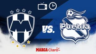 Monterrey vs Puebla: Horario y dónde ver.