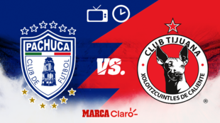 Pachuca vs Tijuana: Horario y dónde ver