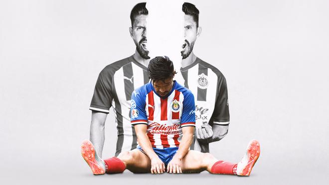 Oribe Peralta cumple un año sin anotar un gol.