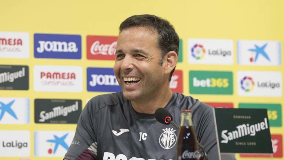 Calleja, entrenador del Villarreal.