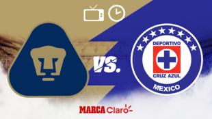 Pumas vs Cruz Azul: Horario y dónde ver.