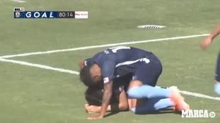 El futbolista supo del deceso tres horas antes