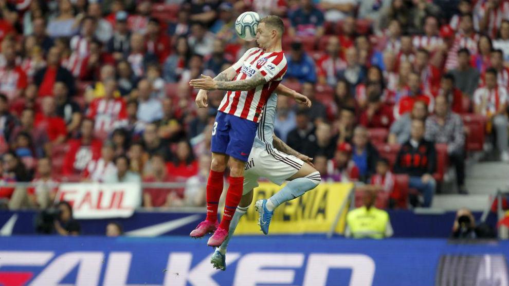 Trippier against Celta Vigo.