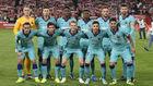 Once del Barcelona contra el Granada