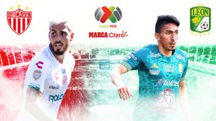 Necaxa vs León: en vivo minuto a minuto.