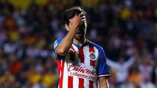 Peralta cumplió un año sin anotar gol en la Liga MX.